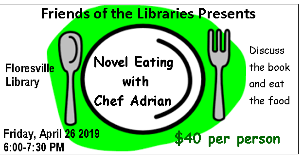 April Novel Eating with Chef Adrian | GoWilson360 - Wilson